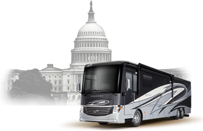 large RV rental USA