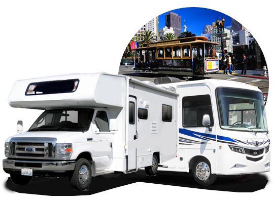 camper & rv hire in San Francisco, California