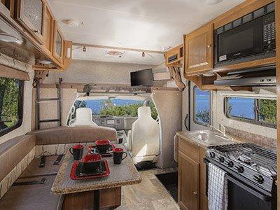 El Monte Cabover Style C22 Rv 5 Berth Campervan Finder